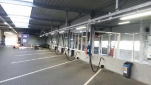 Vier nieuwe puien plaatsen bij wasstraat