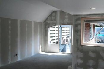 Binnenruimte verbouwing bijna klaar