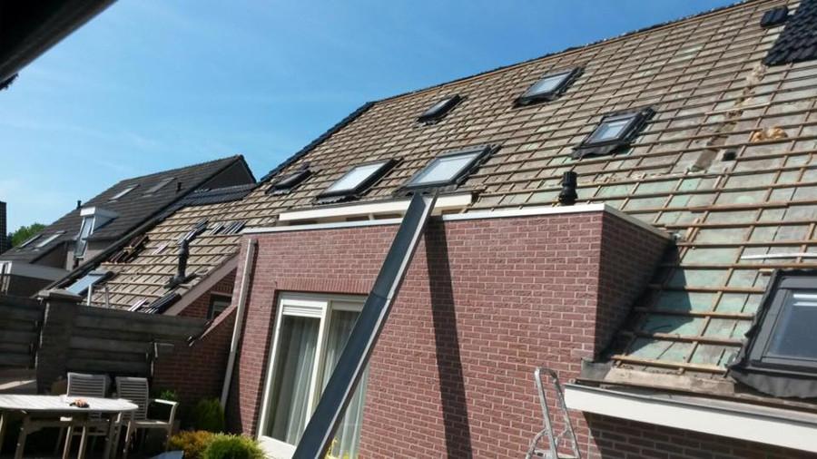 Dakwerken en het dak vervangen is een van onze specialisaties