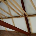 Dak stabiliseren schuur / bijgebouw