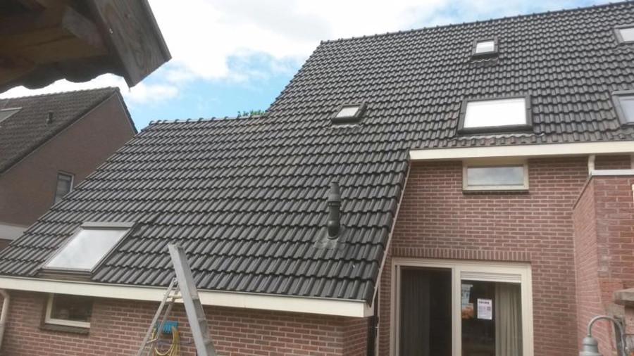 Nieuw dak gelegd in Dalerpeel