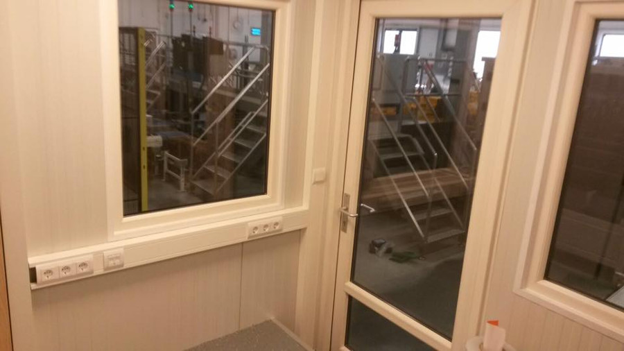 Verbouwing kantoorruimte
