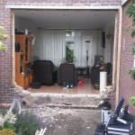 Uitbreken achterzijde woning
